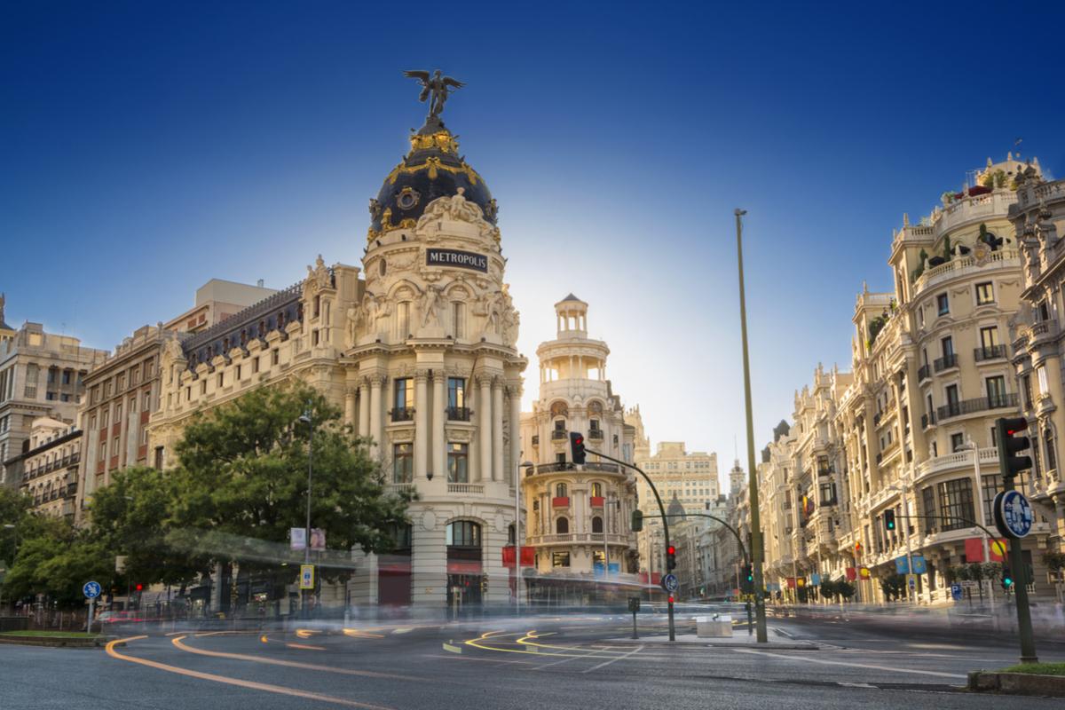 Madryt centrum miasta