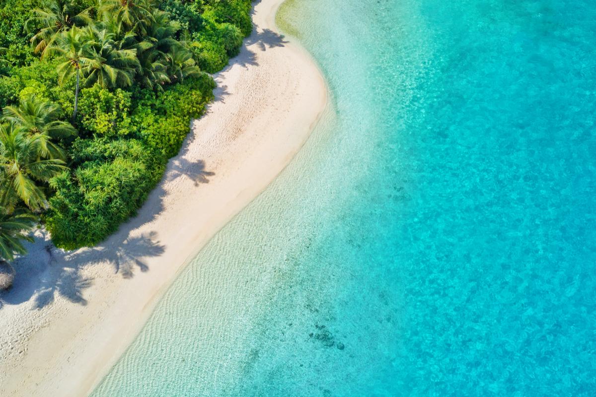 malediwy plaża