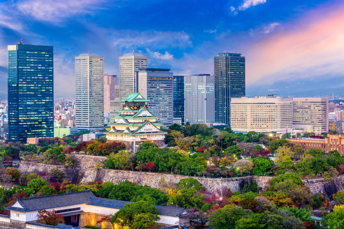 Osaka zamek