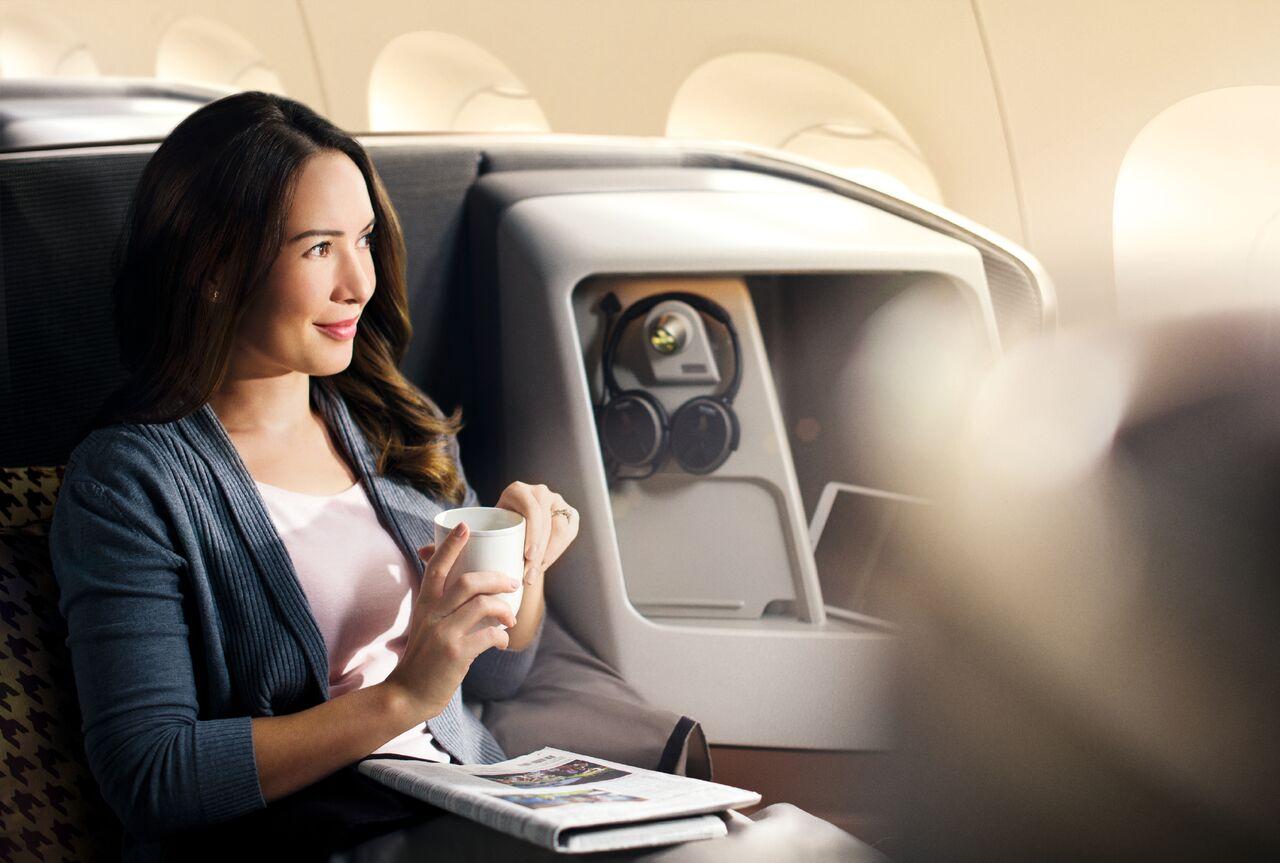 Singapore Airlines klasa biznes
