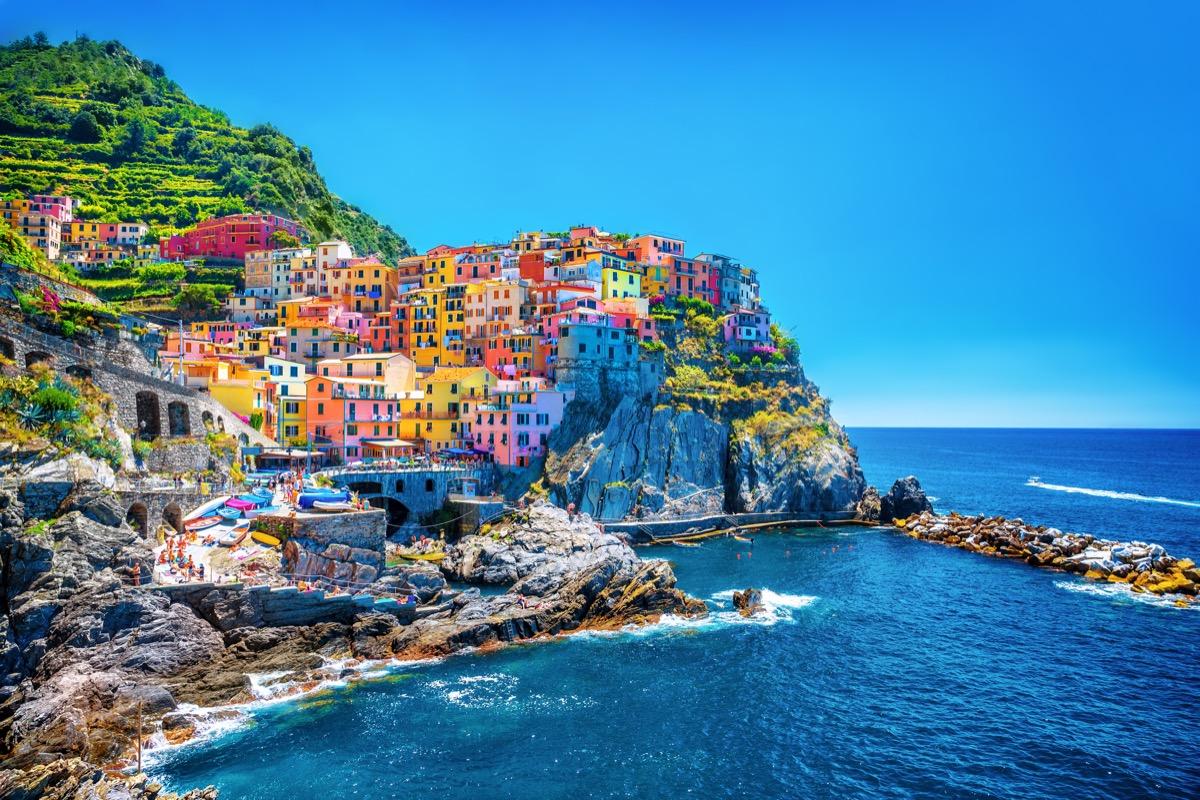 genua włoskie wybrzeże