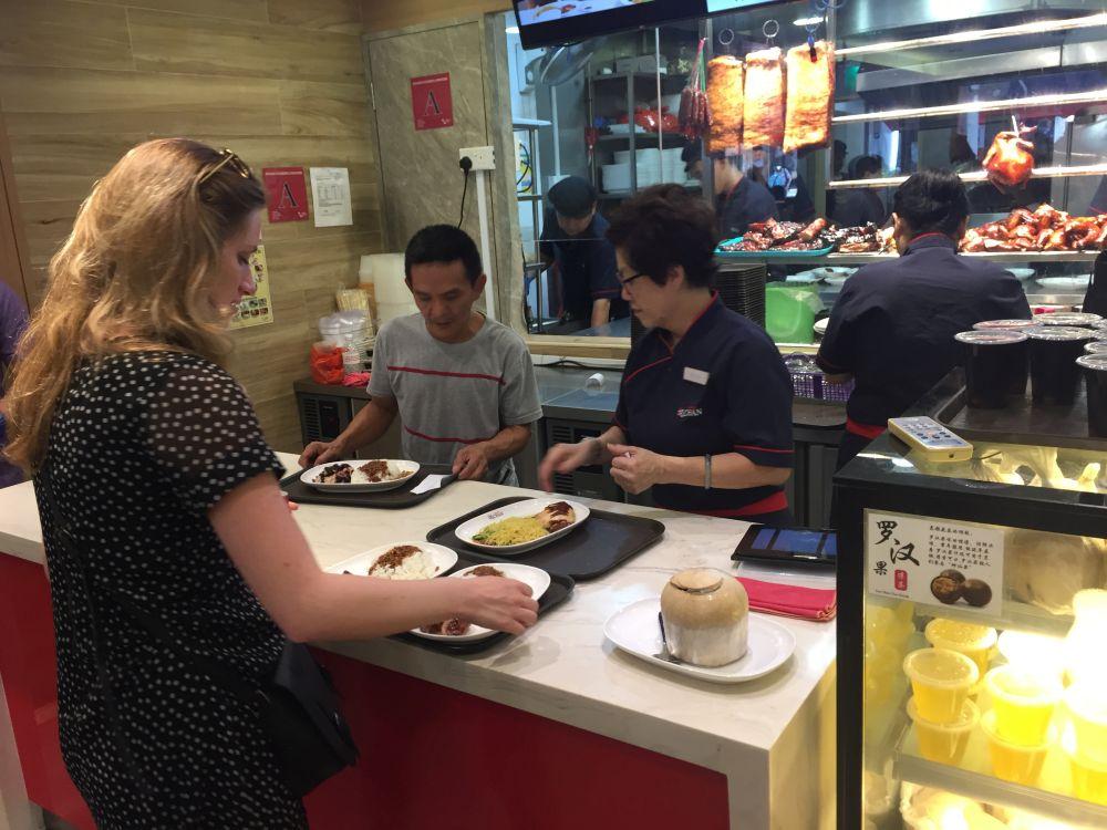 Restauracja Hawker Chan Singapur