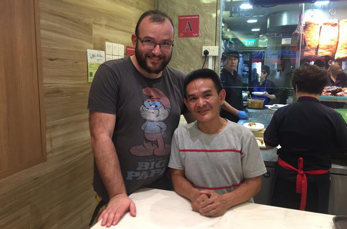 Singapur szef kuchni najtańszej restauracji z gwiazdką Michelin