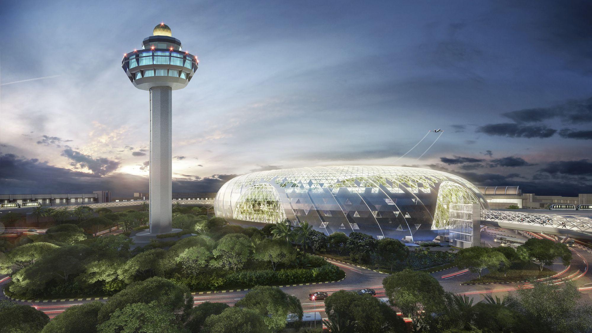 Lotnisko Changi Singapur