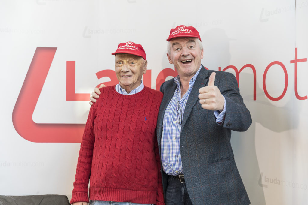 Michael O'Leary Niki Lauda