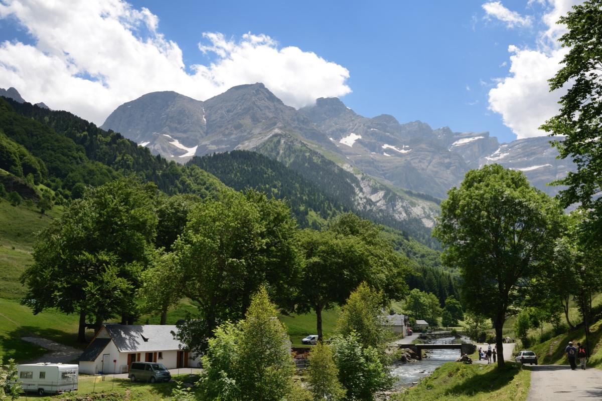 Pireneje panorama