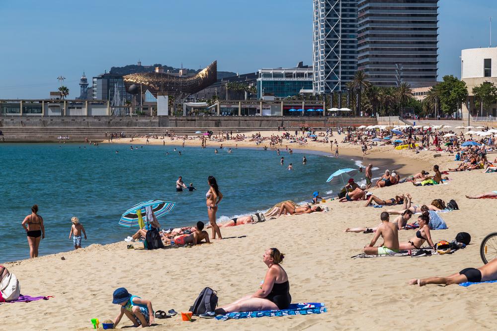 plaża Nova Icaria, Barcelona