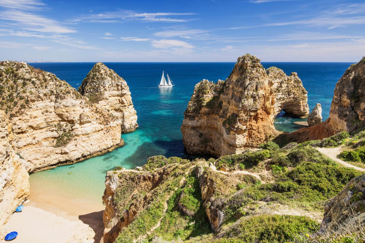 wybrzeże Algarve