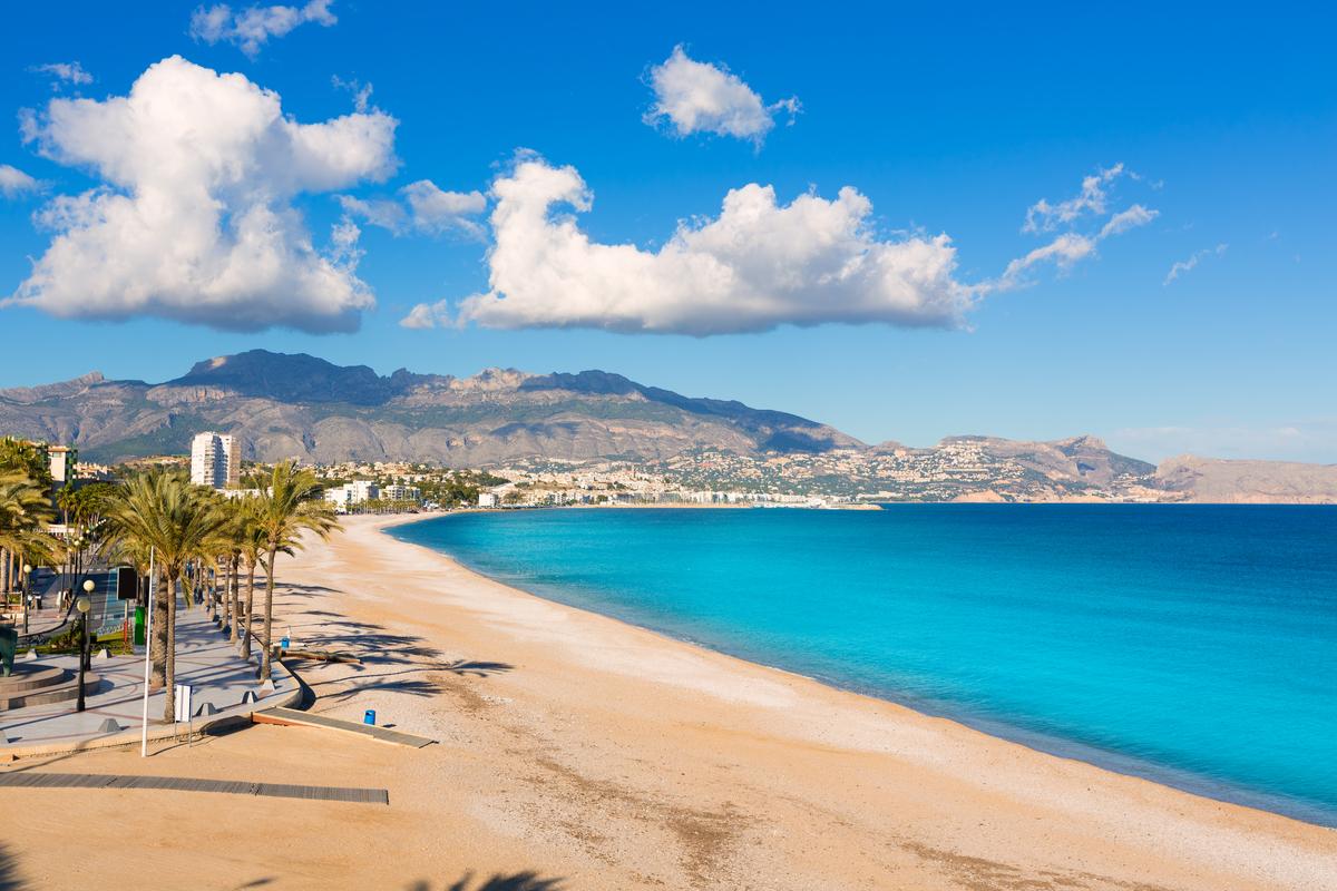 plaża w Alicante
