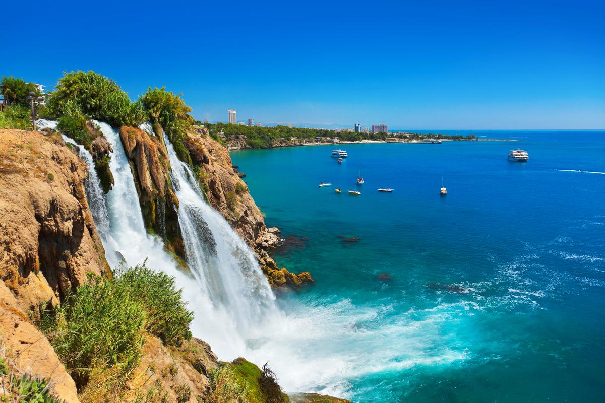 wodospad Antalya