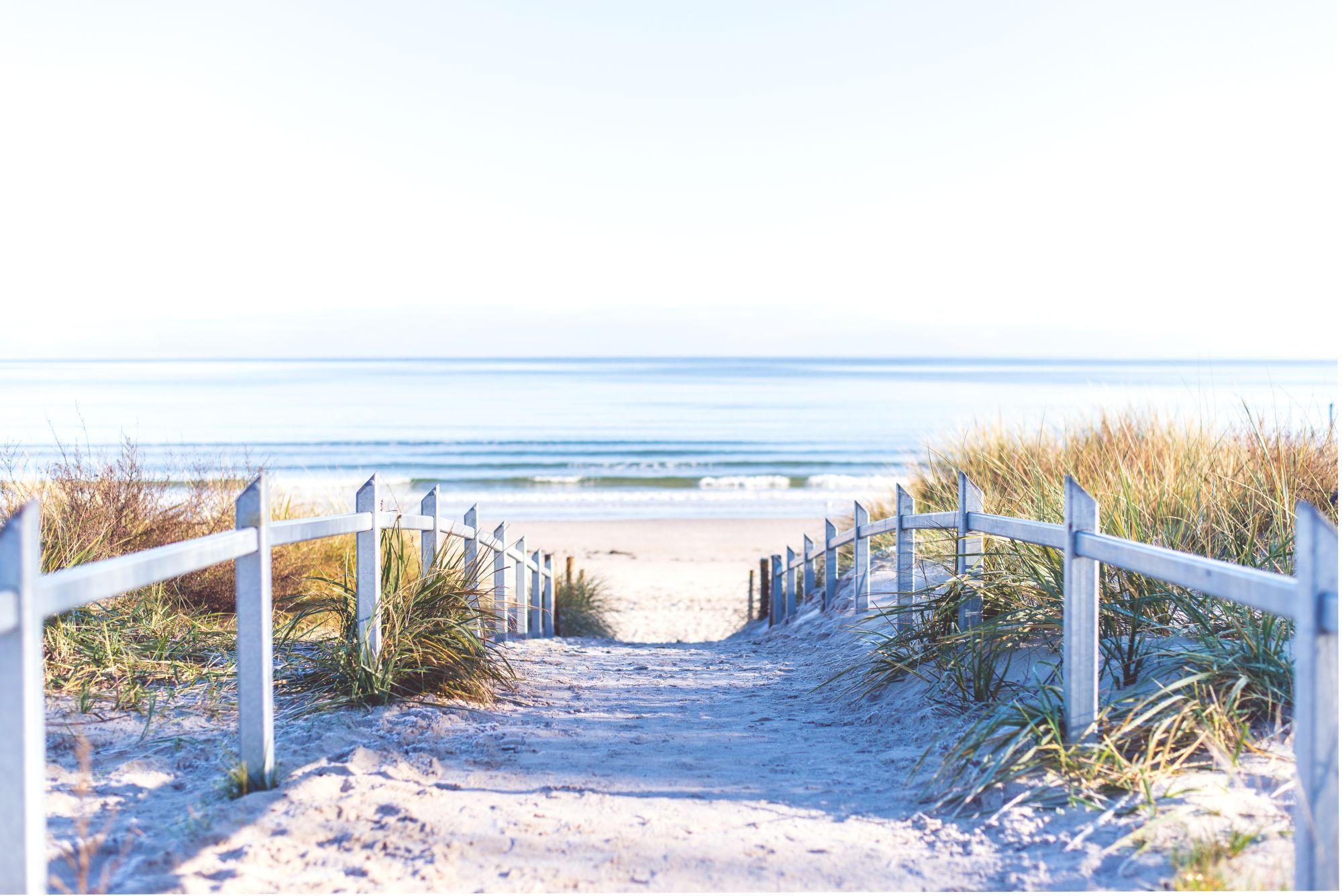 Bałtyk widok wybrzeża