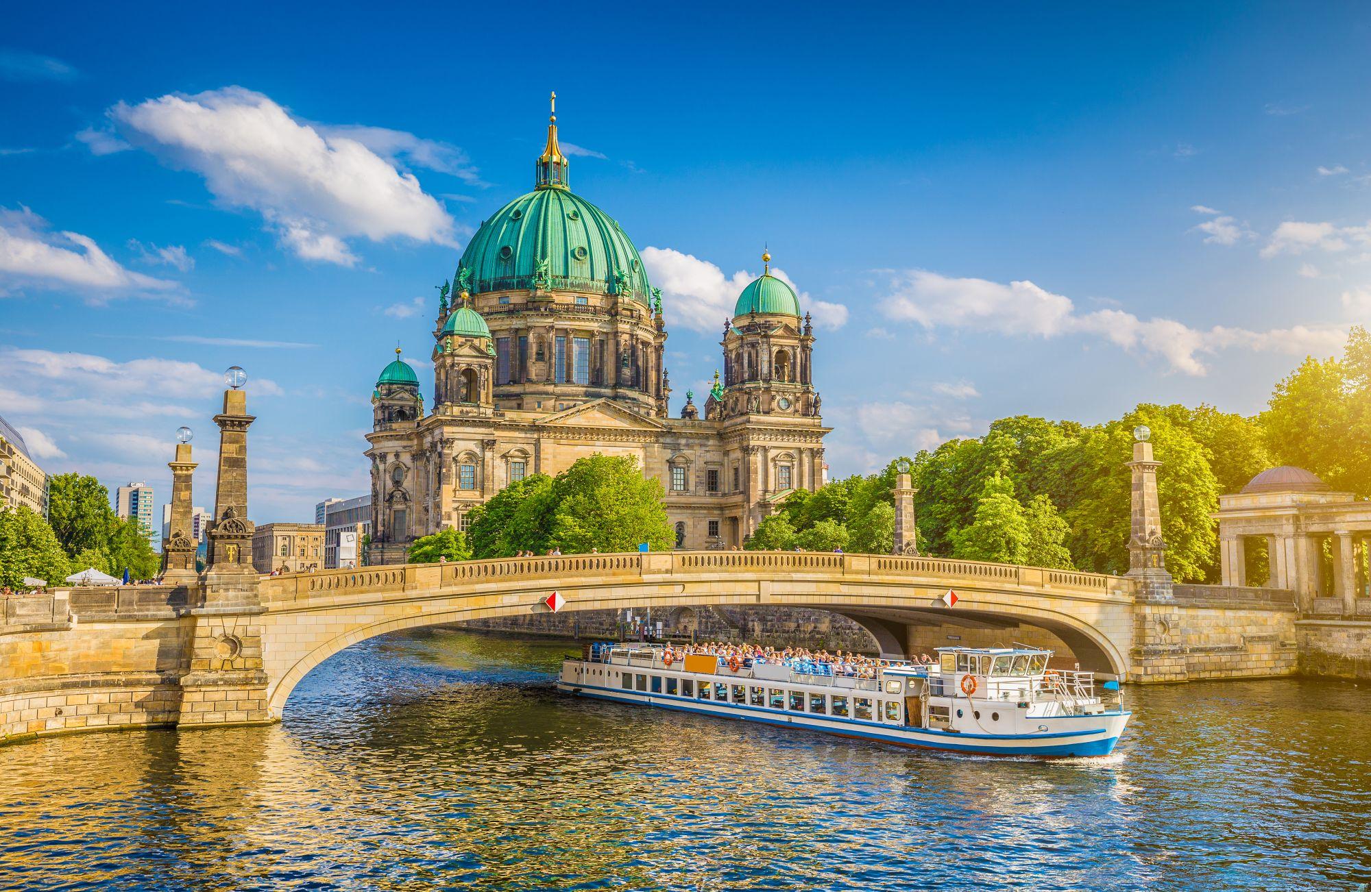 Berlin widok rzeki