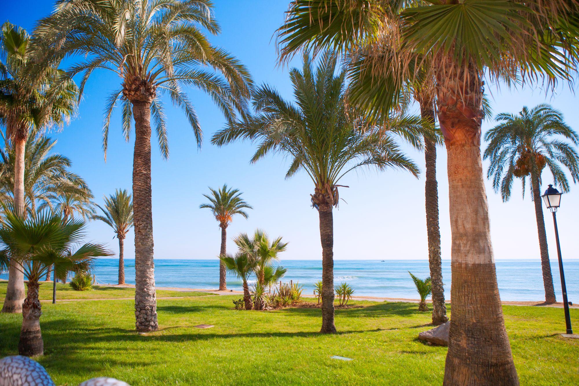 castellon widok plaży