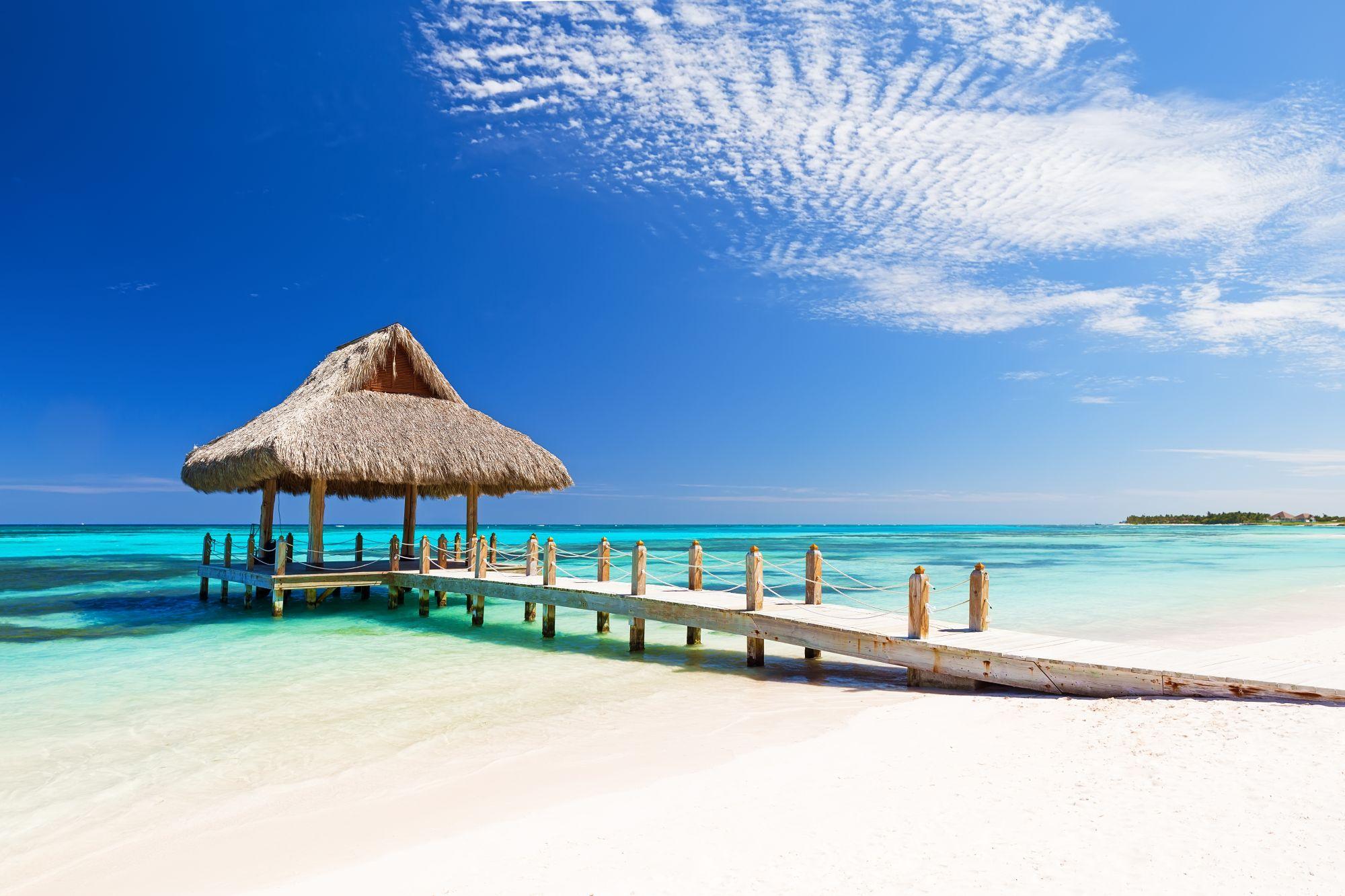Dominikana widok plaży