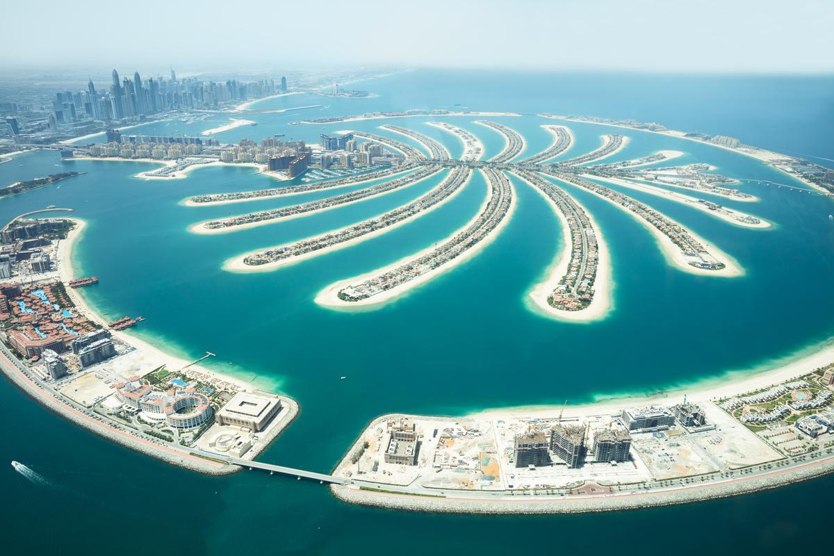 The Palm Dubaj