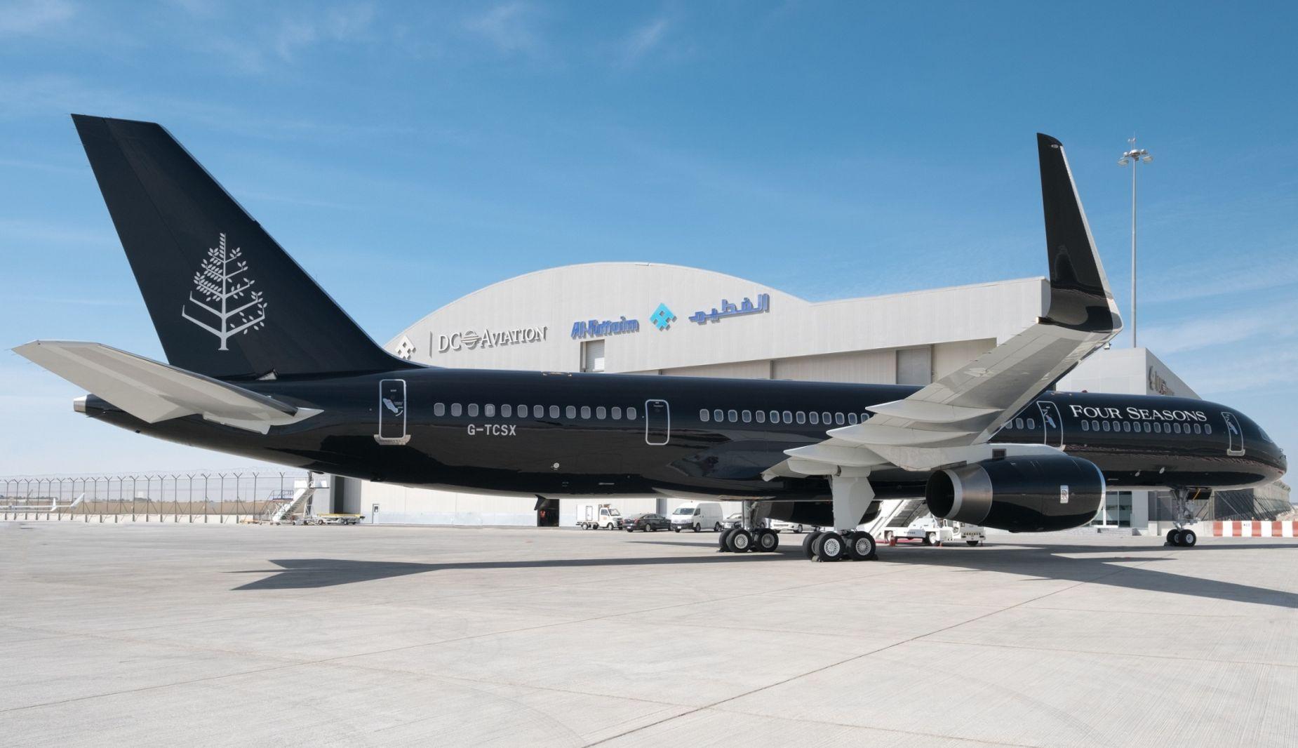 Samolot Private Jet Four Seasons