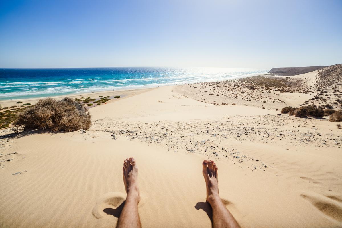 plaża Sotavento Fuerteventura