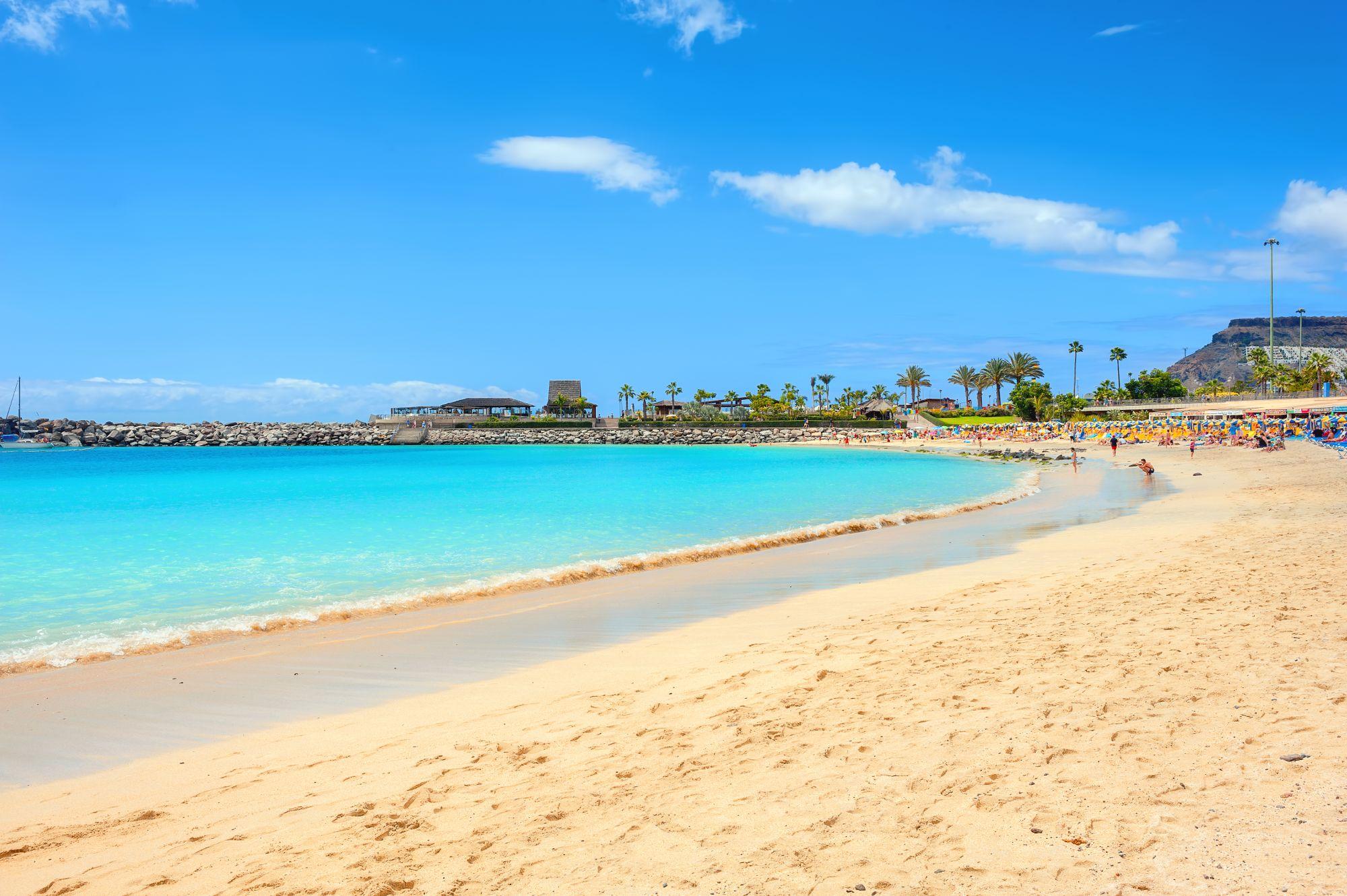 Gran Canaria widok plaży
