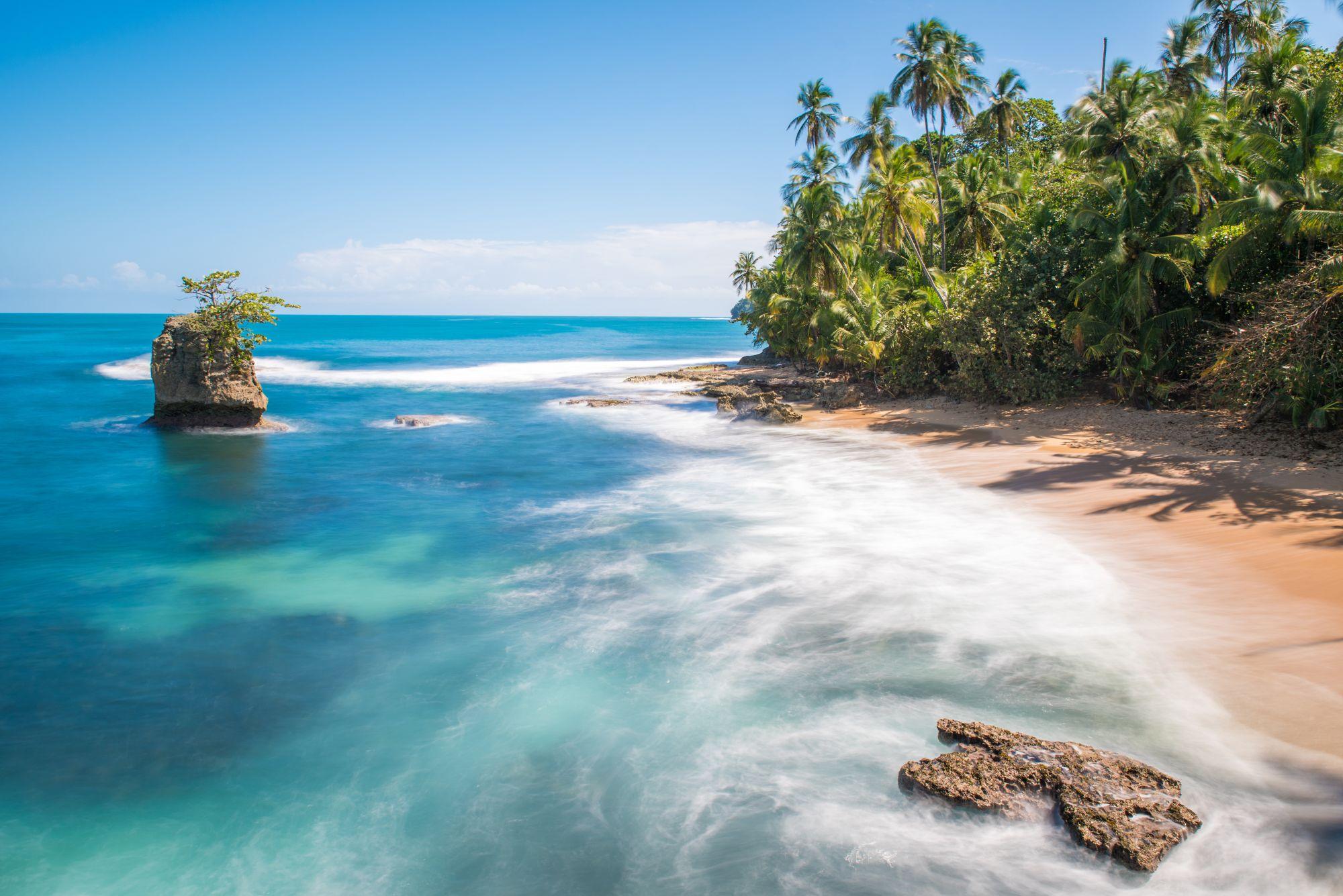 Kostaryka widok plaży