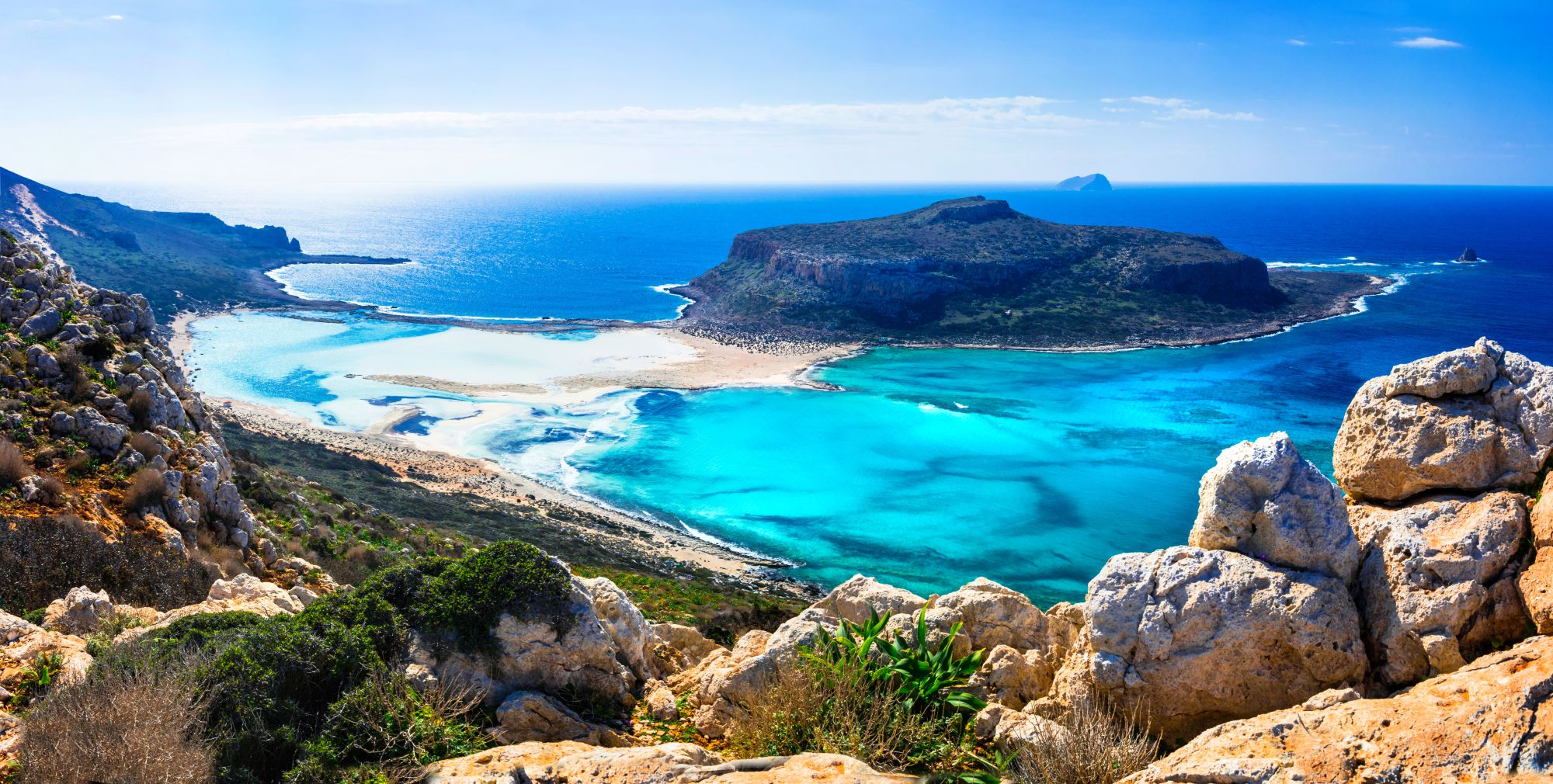 Kreta widok laguny