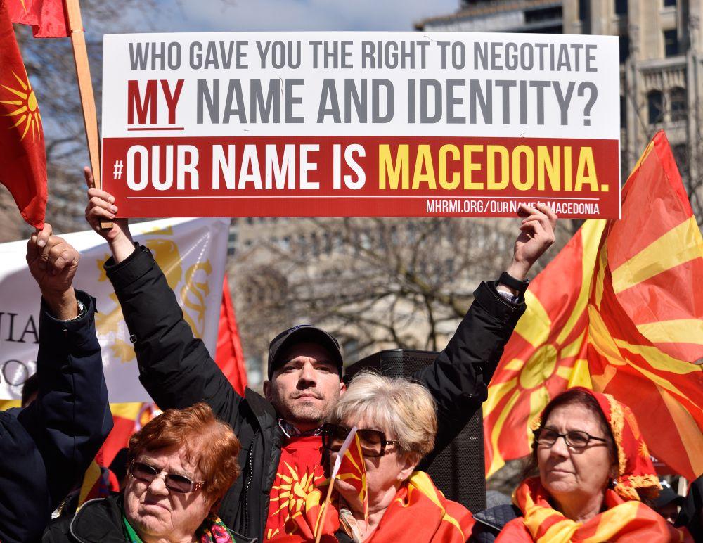 Macedonia protesty