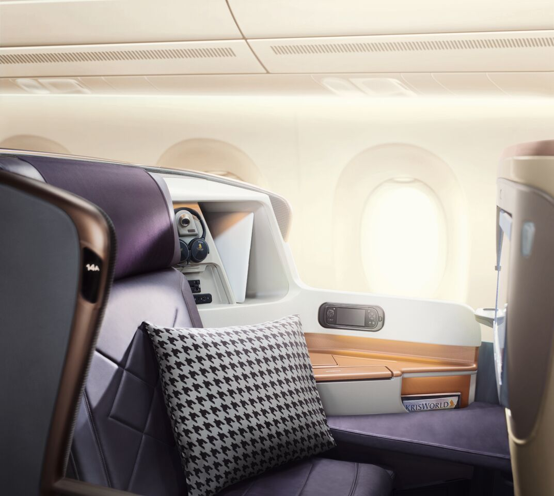 klasa biznes Singapore Airlines