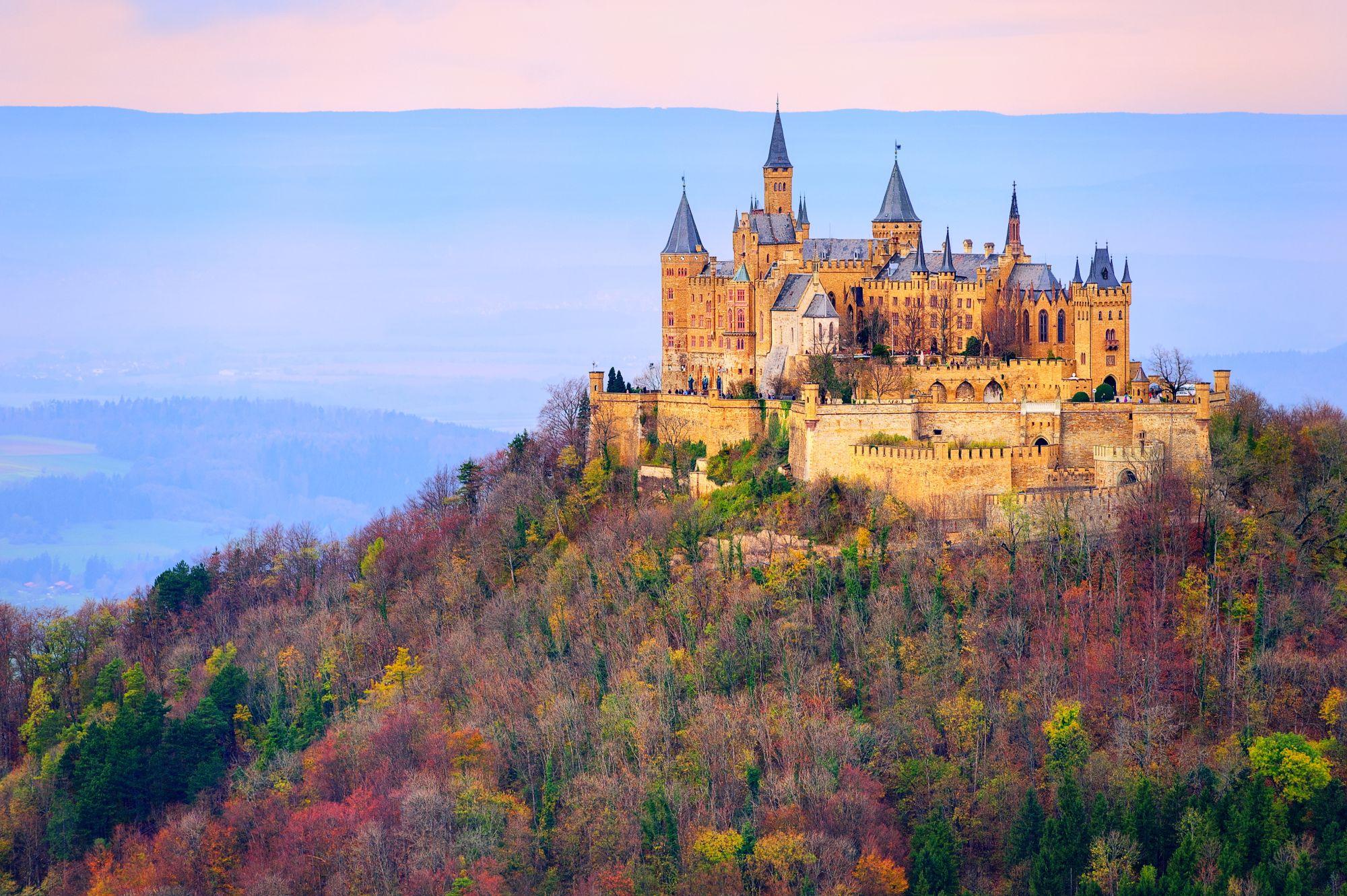 Stuttgrt widok zamku