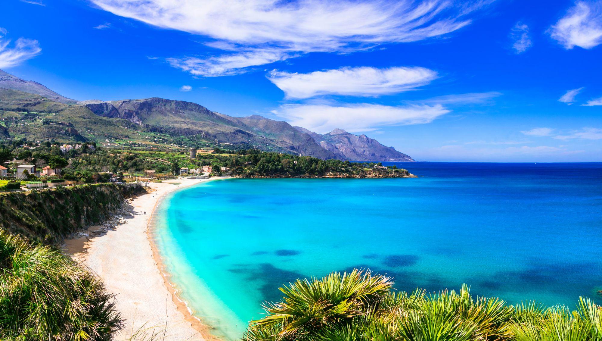 Sycylia panorama wybrzeża
