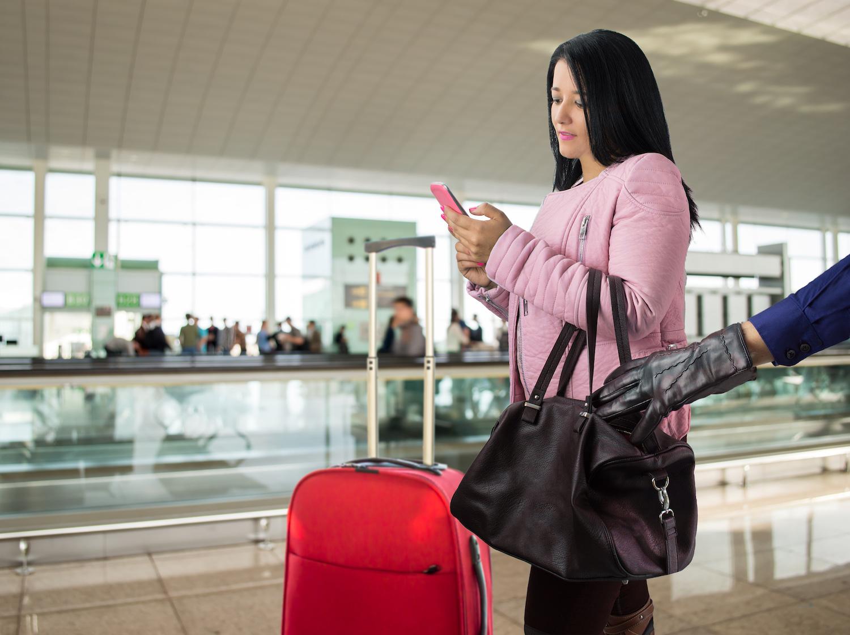 kradzież na lotnisku