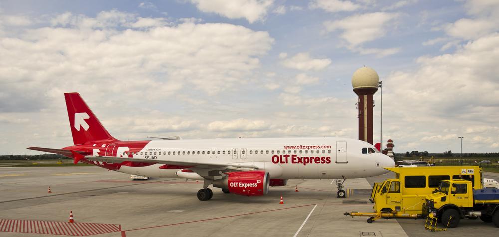 Samolot OLT Express