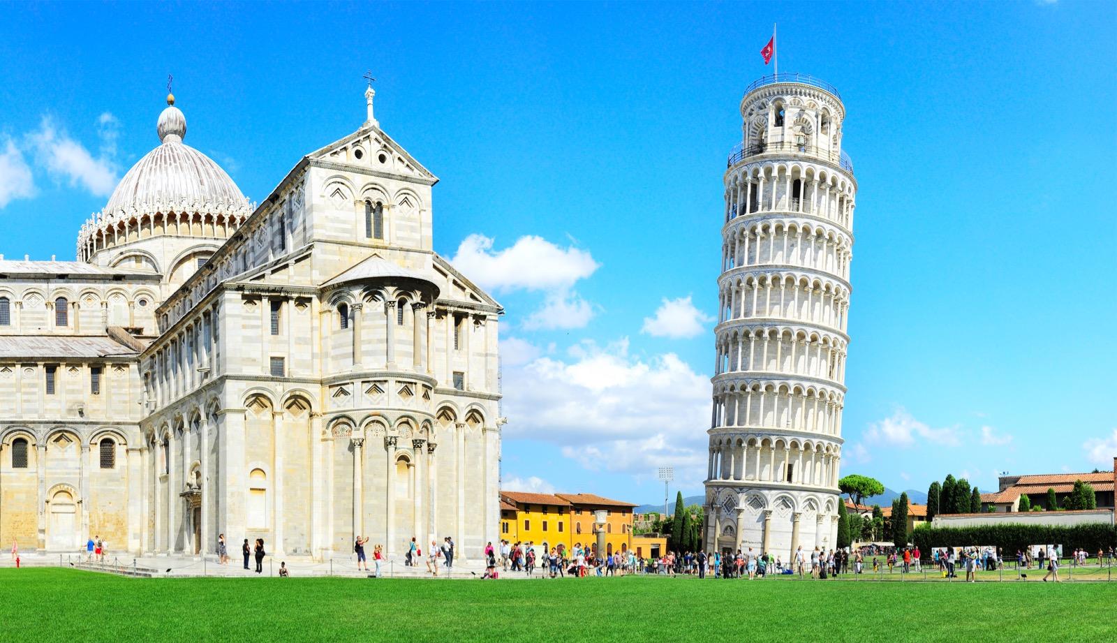 krzywa wieża piza