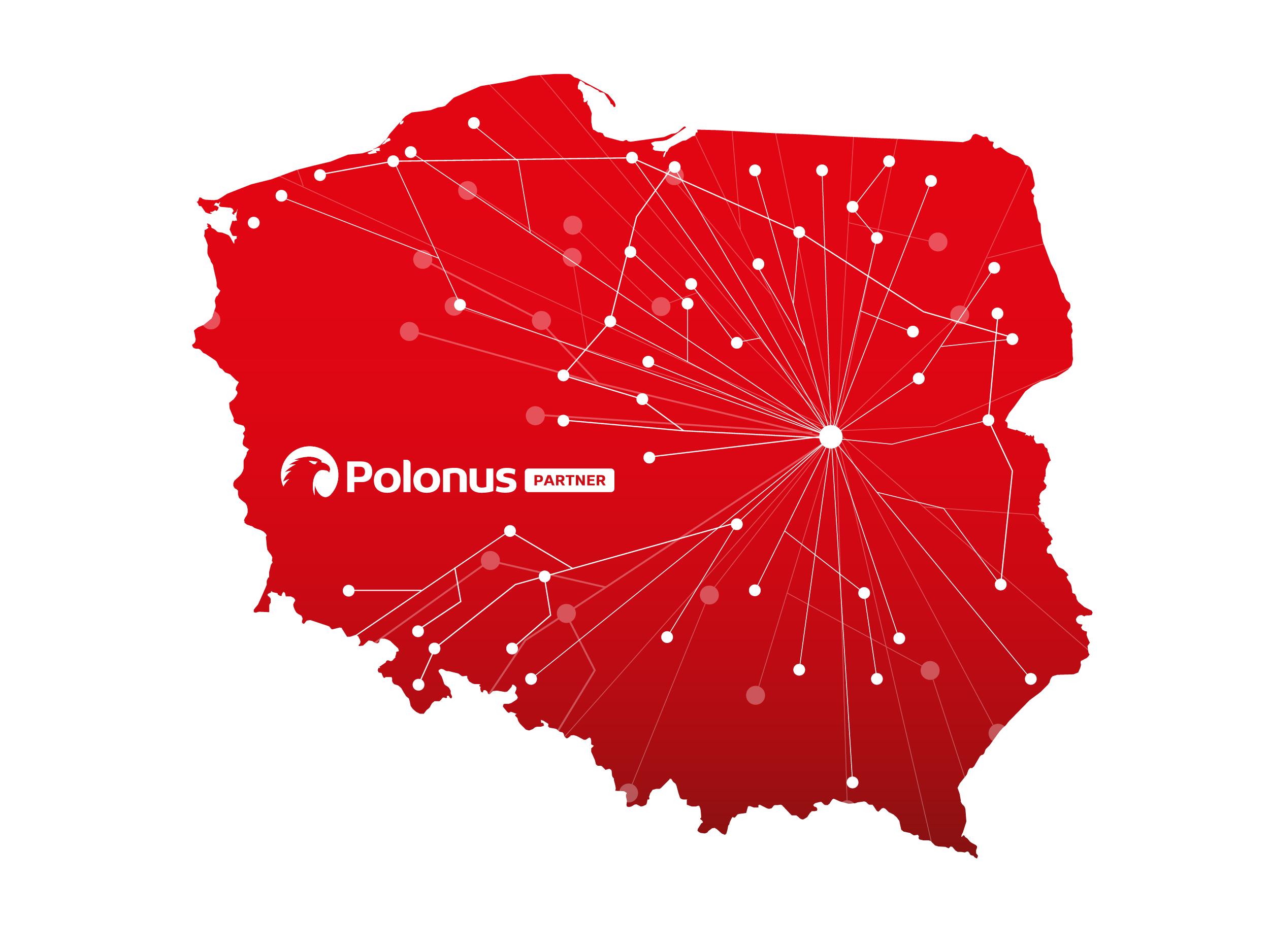 siatka połączeń Polonus Partner