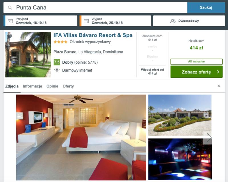 hotel w punta cana