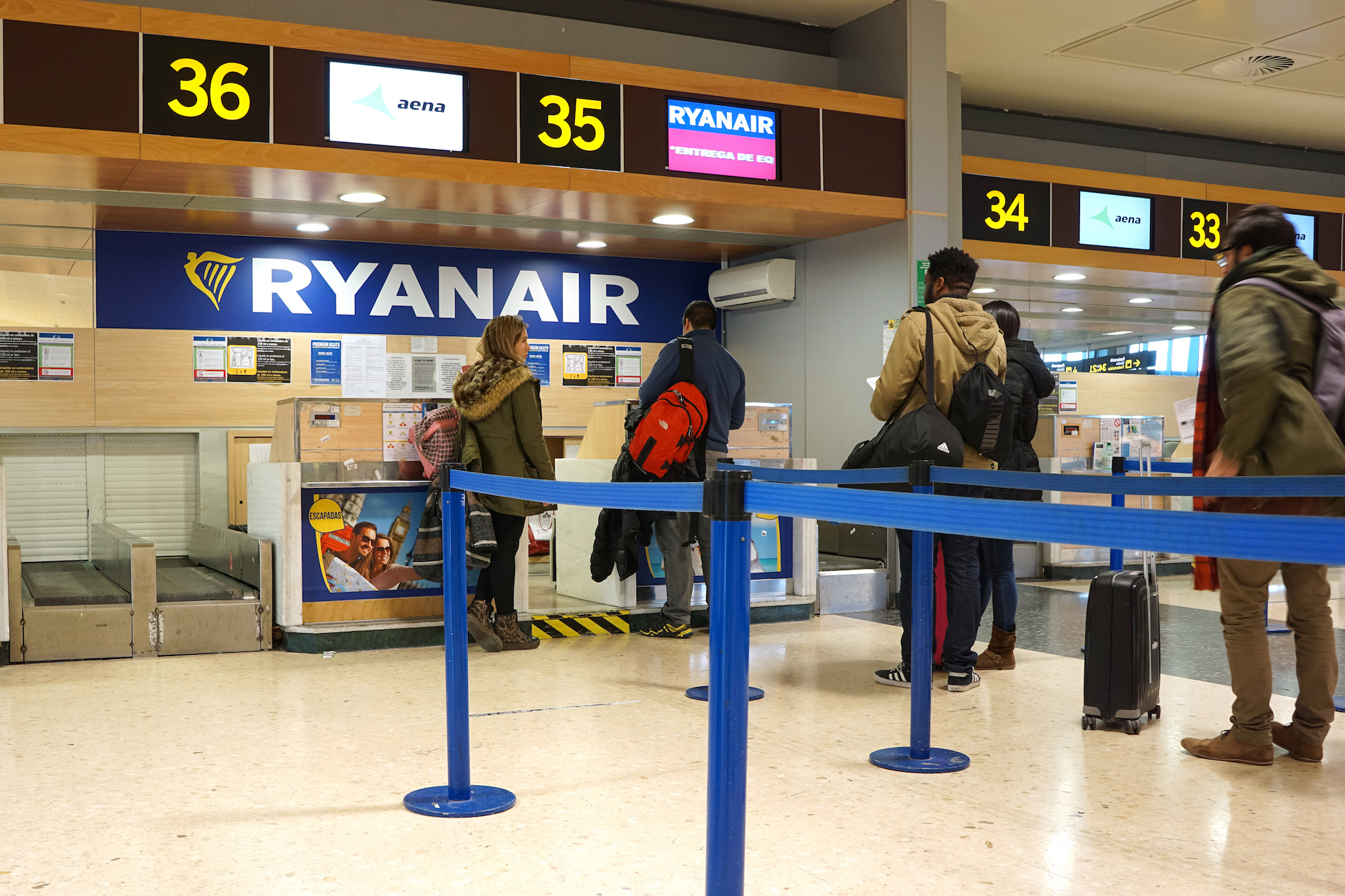 odprawa Ryanair