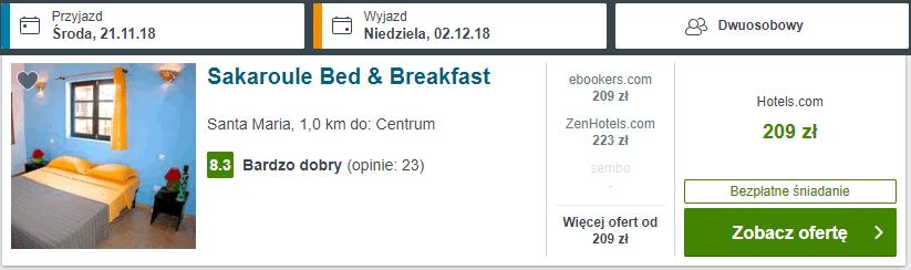 Sakaroule Bed & Breakfast