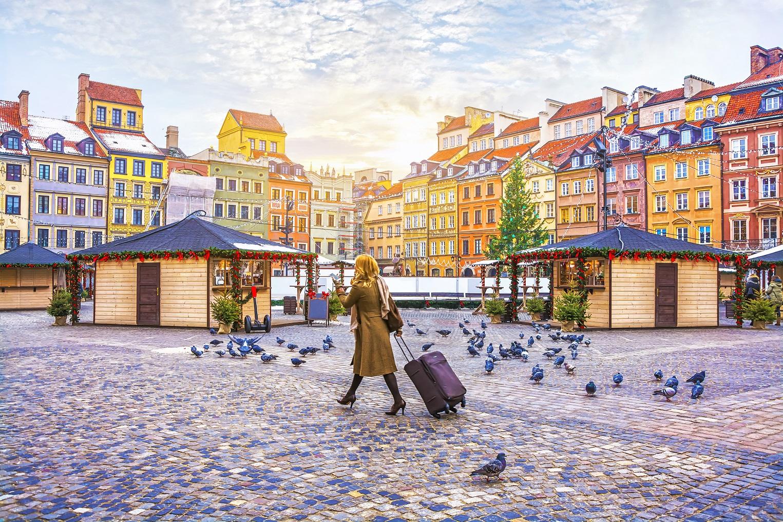 turystka we wrocławiu