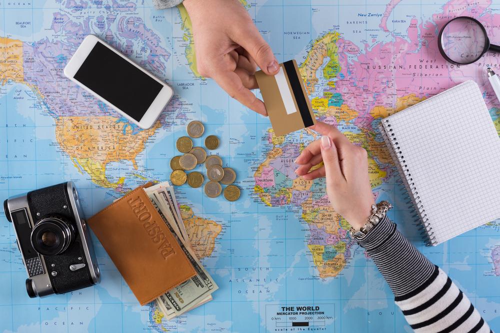 pieniądze w podrózy
