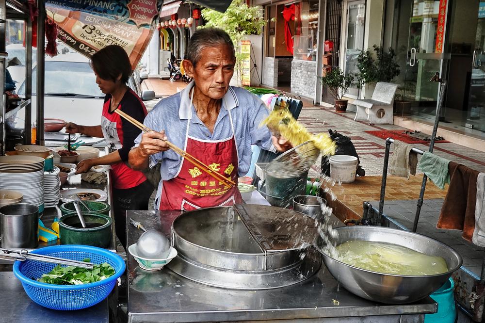 uliczny sprzedawca penang