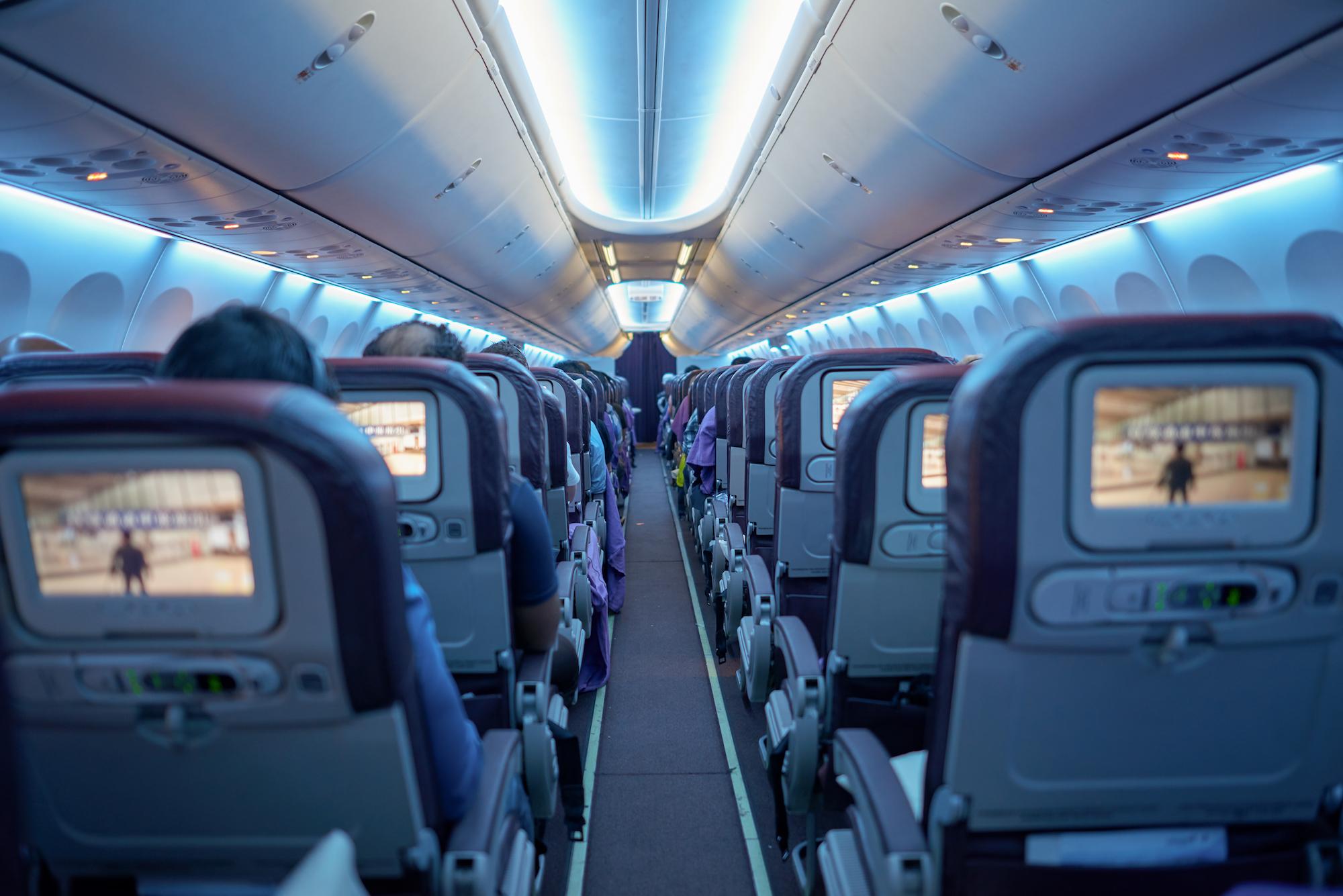 Wnętrze Boeinga 737