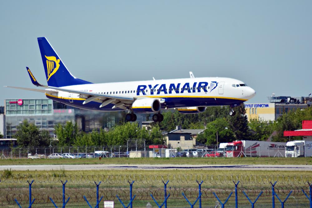 samolot Ryanair Sun