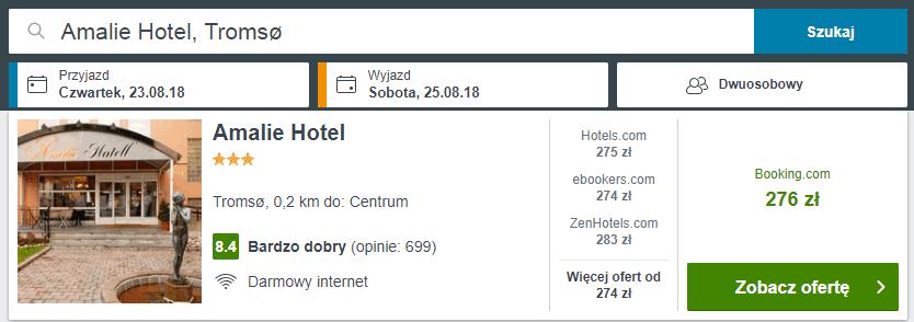 hotel amalie tromso