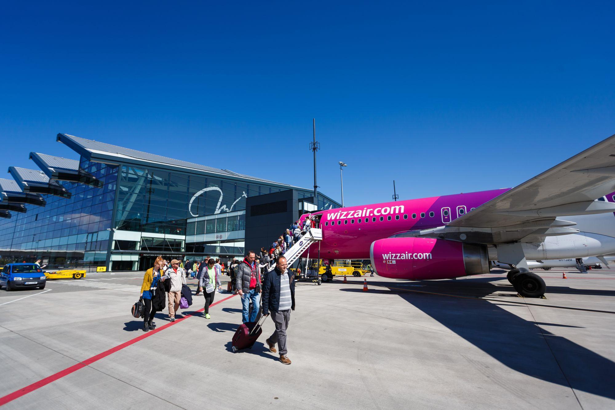 Wizz Air lotnisko w Gdańsku