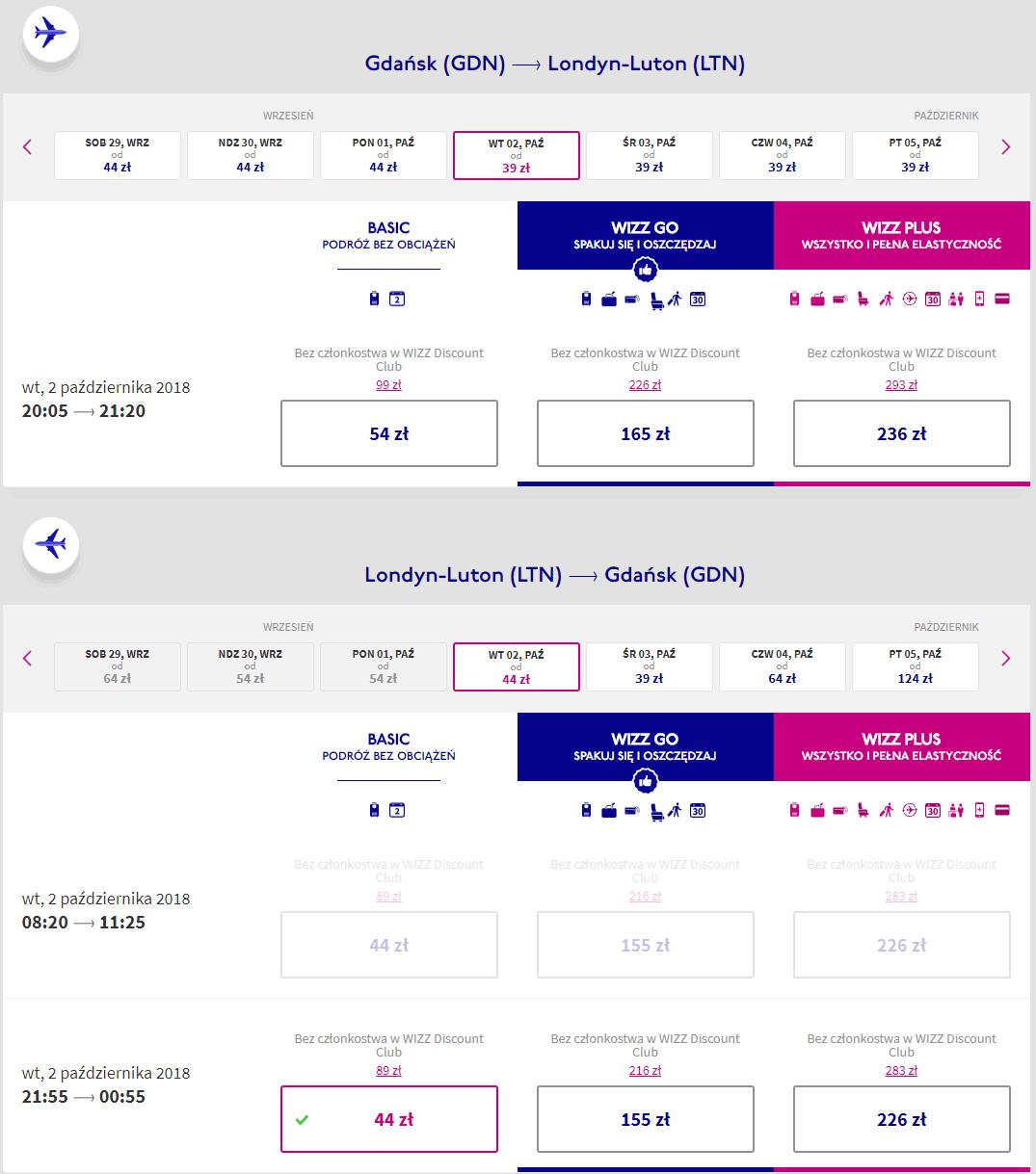 rezerwacja lotów z gdańska do londynu