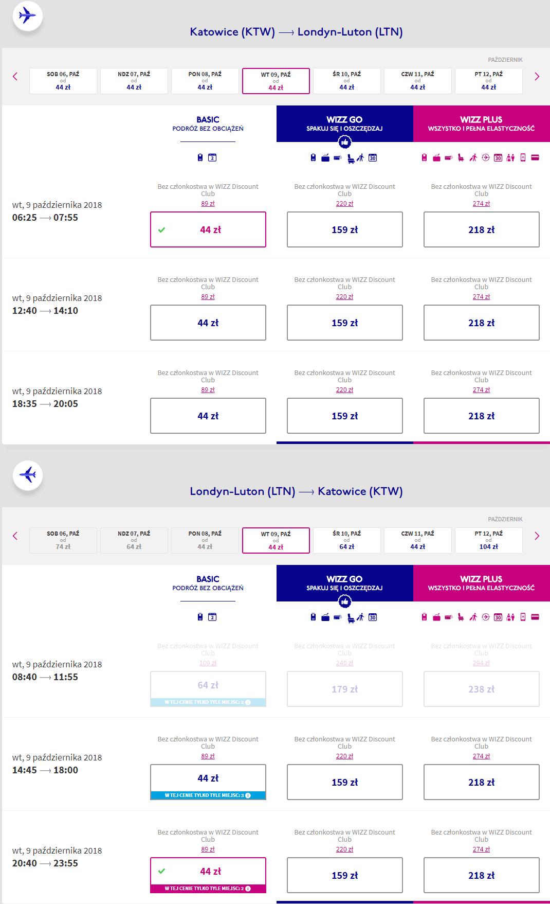 rezerwacja lotów z katowic do londynu
