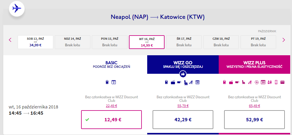 rezerwacja lotów z neapolu do katowic