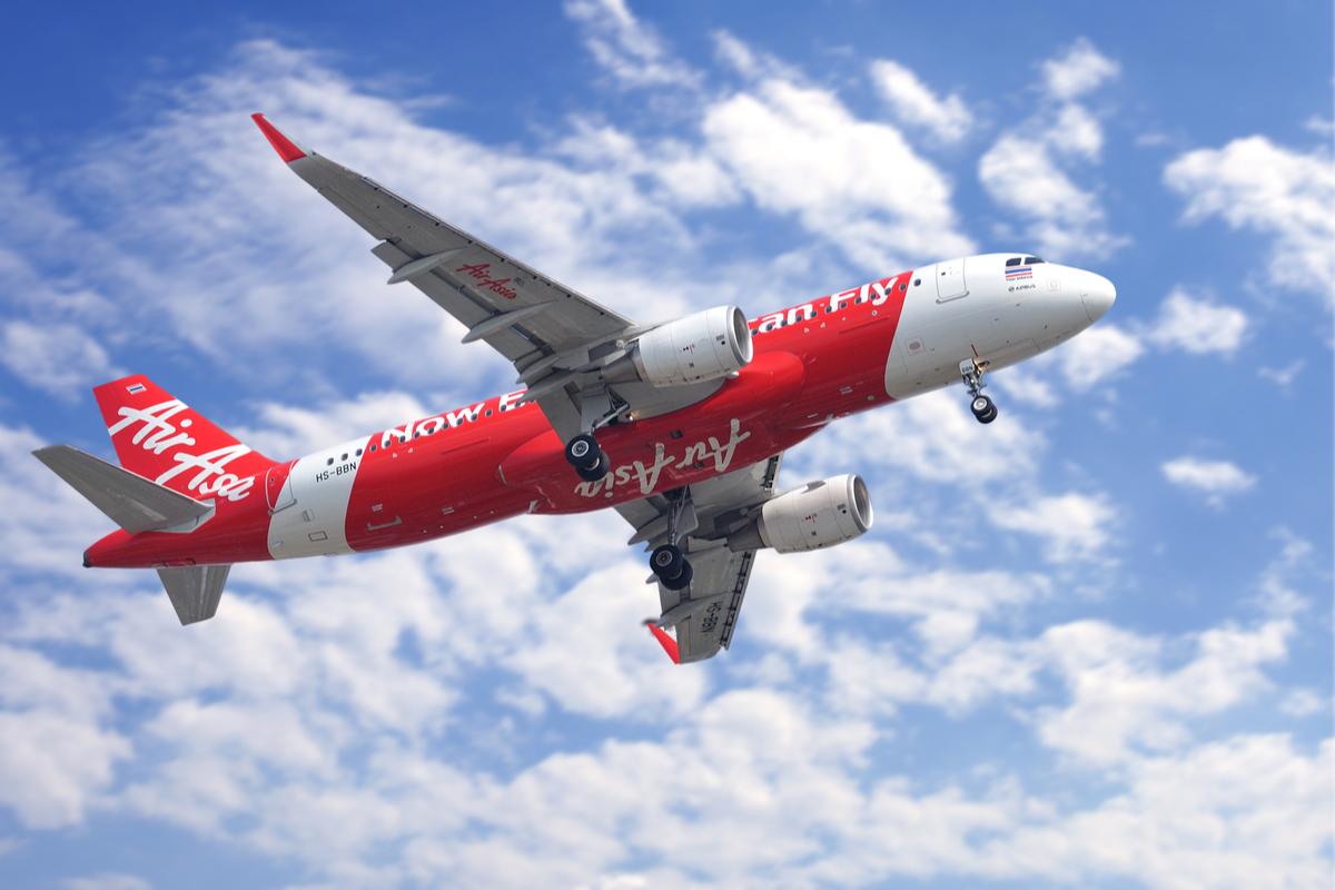 Air Asia samolot