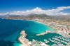 Alicante widok na wybrzeże