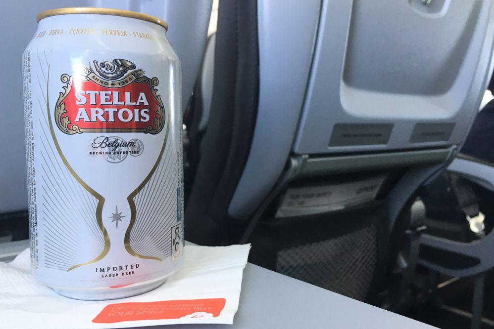 Piwo w samolocie
