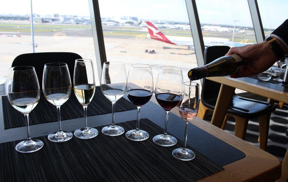 Alkohol w porcie lotniczym