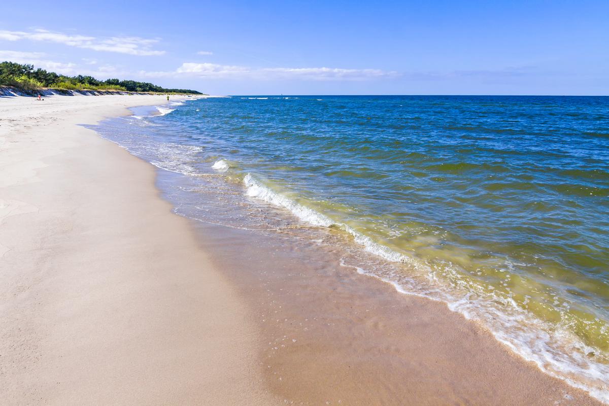 plaża na Helu